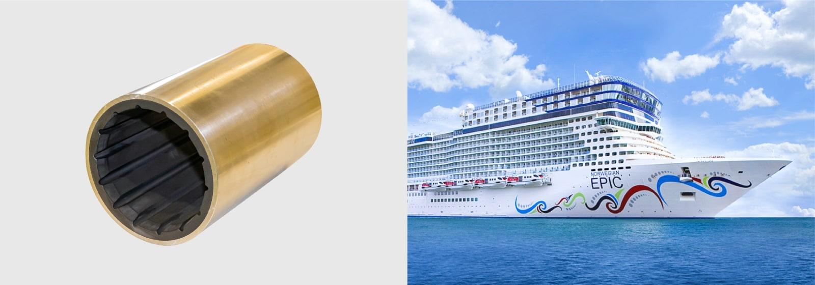Rubber Bearings for Ships