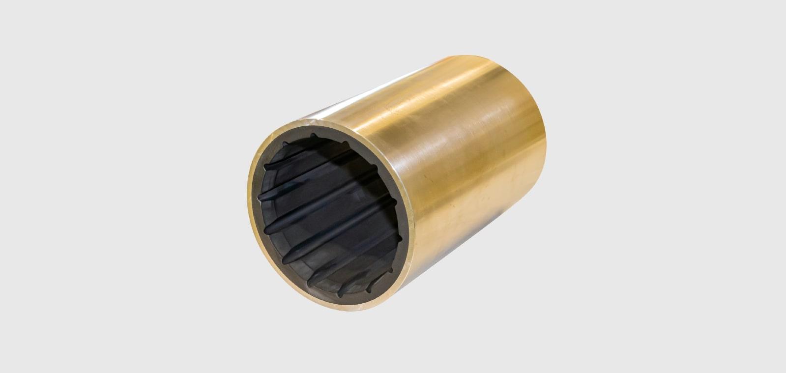 水潤滑軸受 (ゴム軸受)