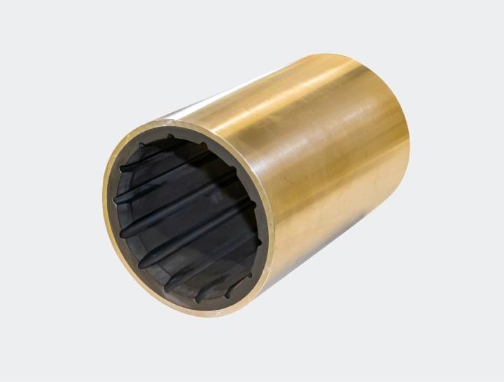 水潤滑軸受(ゴム軸受)