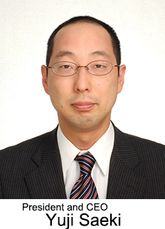 President and CEO Yuji Saeki